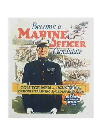 Marines posters at - Becoming a marine officer ...