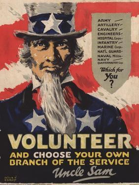 Volunteer Recruitment Poster by Arthur N. Edrop