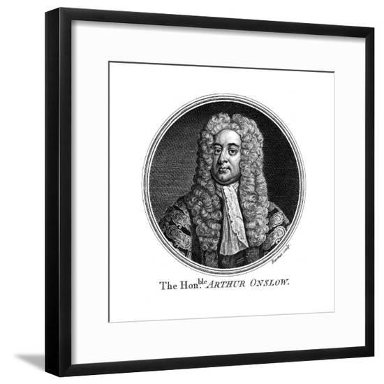 Arthur Onslow--Framed Giclee Print