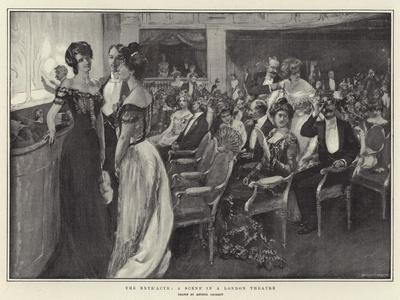 The Entr'Acte, a Scene in a London Theatre