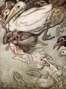 'A Descent into the Maelstrom' by Edgar Allan Poe by Arthur Rackham