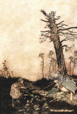 Alice in Wonderland - The White Rabbit by Arthur Rackham