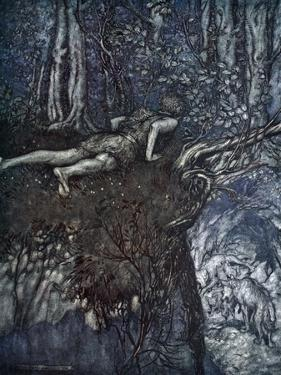 And there I learnt what love was like', 1924 by Arthur Rackham