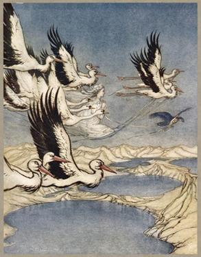 Ballad, Mar's Daughter by Arthur Rackham