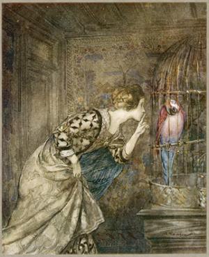 Ballad, May Colven by Arthur Rackham