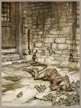 Ballad, Young Bekie 2 by Arthur Rackham