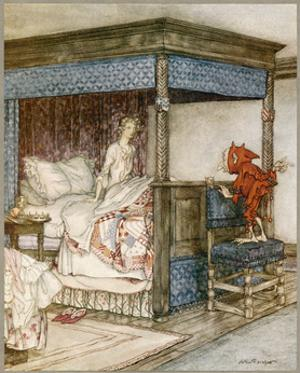 Ballad, Young Bekie by Arthur Rackham