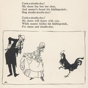 Cock-A-Doodle-Doo! by Arthur Rackham
