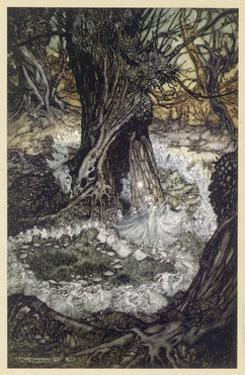 Dancing in Wood by Arthur Rackham
