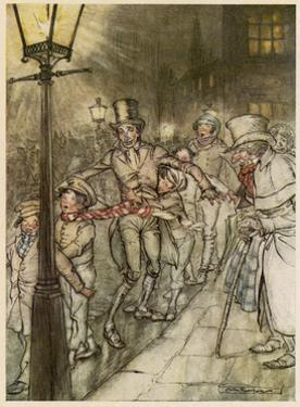 Dickens, Christmas Carol by Arthur Rackham