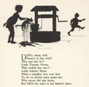Ding Dong Bell Rhyme by Arthur Rackham