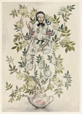 Elder-Tree Mother by Arthur Rackham