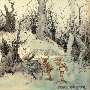 Elves in a Wood, 1908 by Arthur Rackham