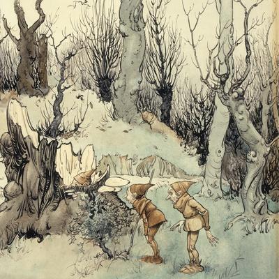Elves in a Wood