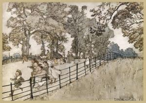England, London, Parks by Arthur Rackham