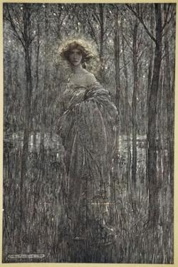 Fair Helena, Who More Engilds the Night Than All You Fiery Oes and Eyes of Light by Arthur Rackham