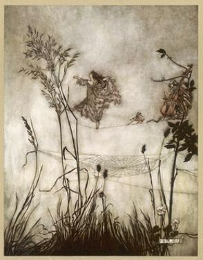 Fairies, Kensington Gdns by Arthur Rackham