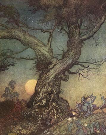 Fairy Folk by Arthur Rackham