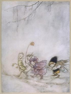 Four Elves by Arthur Rackham