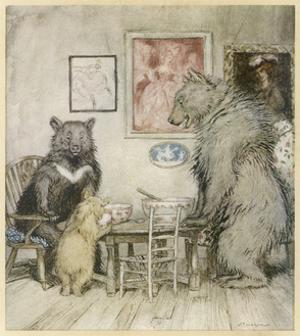 Goldilocks, Fairy Tales by Arthur Rackham