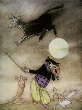 Hey Diddle Diddle, Old Nursery Thymes by Arthur Rackham