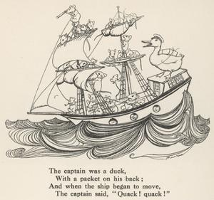 I Saw a Ship A-Sailing by Arthur Rackham
