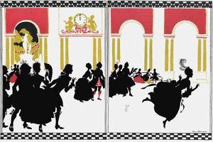 Illustration for Fairy Tale Cinderella by Arthur Rackham