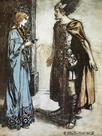 Illustration from Siegfried and the Twilight of the Gods, 1924 by Arthur Rackham