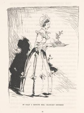 'In Half a Minute Mrs. Cratchit Entered', 1915 by Arthur Rackham