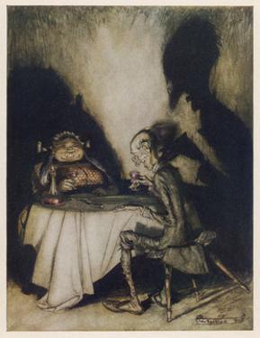 Jack Sprat, Mother Goose by Arthur Rackham