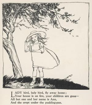 Ladybird, Ladybird by Arthur Rackham
