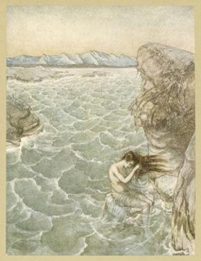 Ligea by Arthur Rackham