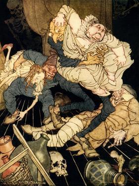 'Ligeia' by Edgar Allan Poe by Arthur Rackham