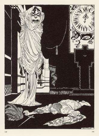 Masque of the Red Death by Arthur Rackham