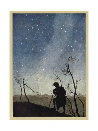 Milton, Comus, Stars 1634