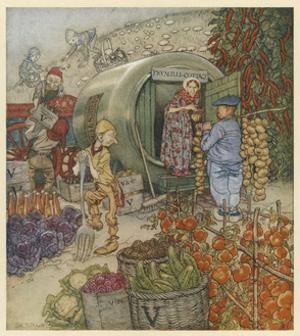 Mr and Mrs Vinegar by Arthur Rackham