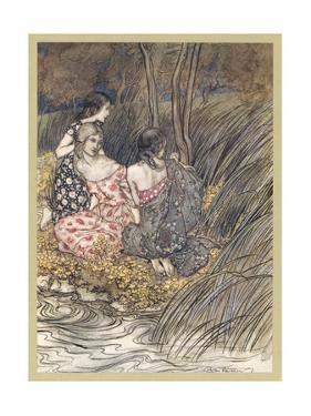 Naiads by Arthur Rackham