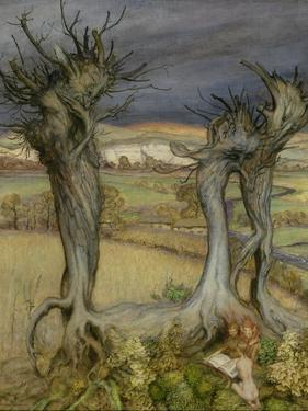 Near Amberley by Arthur Rackham