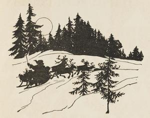 Night before Christmas by Arthur Rackham