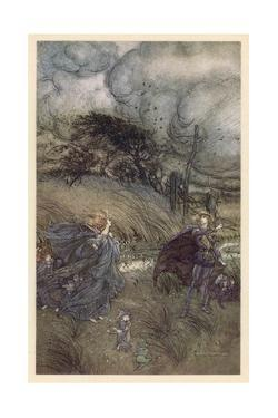Oberon and Titania by Arthur Rackham