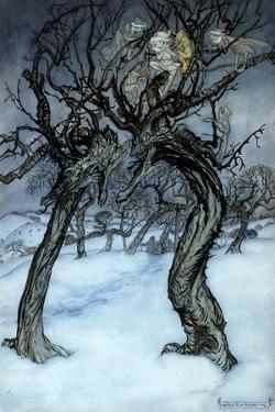 Rackham: Whisper Trees by Arthur Rackham