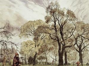 Regent's Park by Arthur Rackham