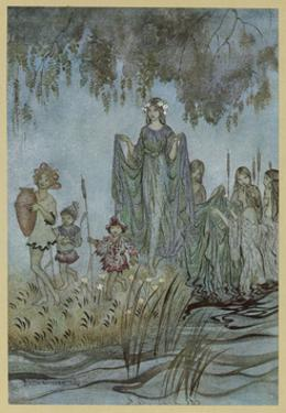 Sabrina Fair by Arthur Rackham