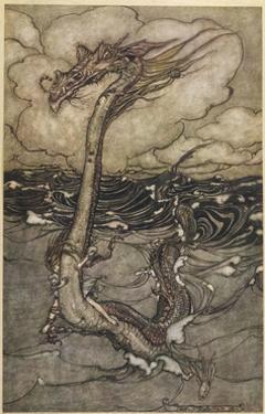 Sea Dragon by Arthur Rackham