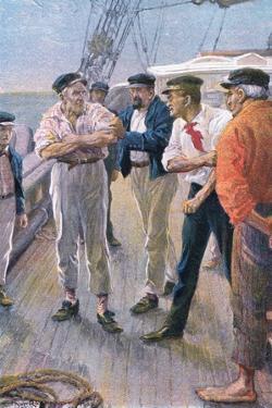 Seize That Man Up by Arthur Rackham