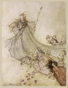 Shakespeare; Titania by Arthur Rackham