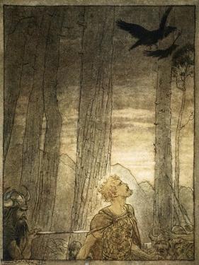 Siegfried's death', 1924 by Arthur Rackham