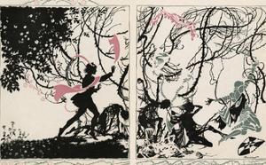 Sleeping Beauty by Arthur Rackham