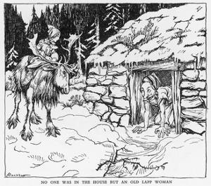 Snow Queen by Arthur Rackham