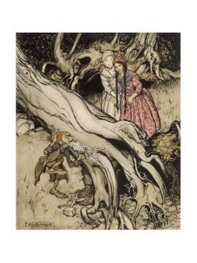 Snow White, Rose Red by Arthur Rackham